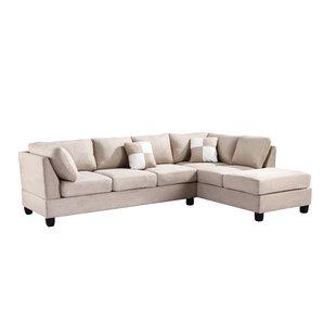 amanda sectional a ivory r furniture art t