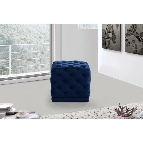 Bonita Tufted Cube Ottoman by Mercer41