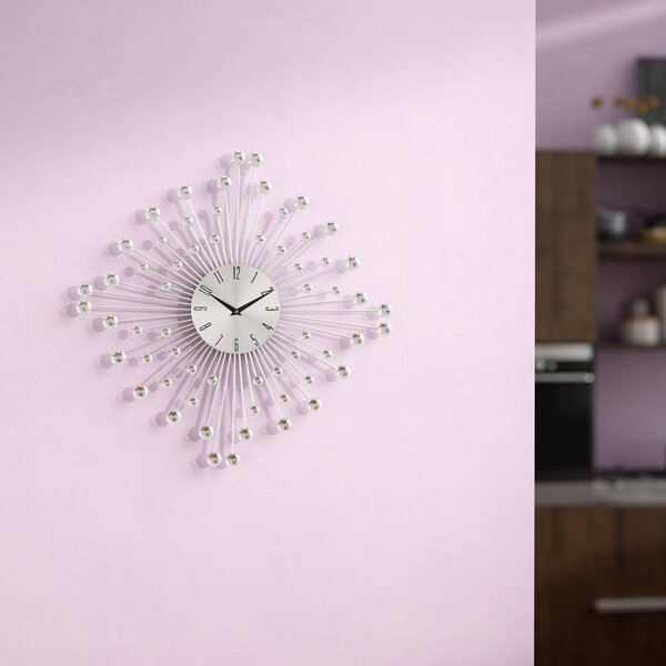 Jackeline 19 Round Wall Clock by Harriet Bee