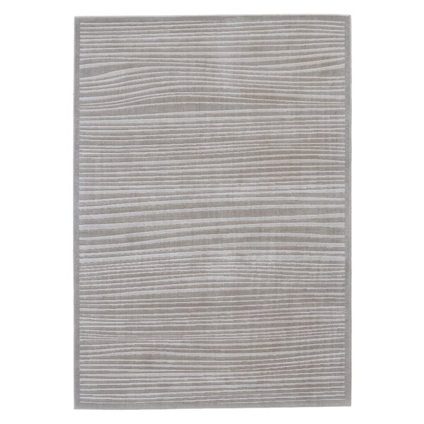 Melina Abstract Taupe Area Rug