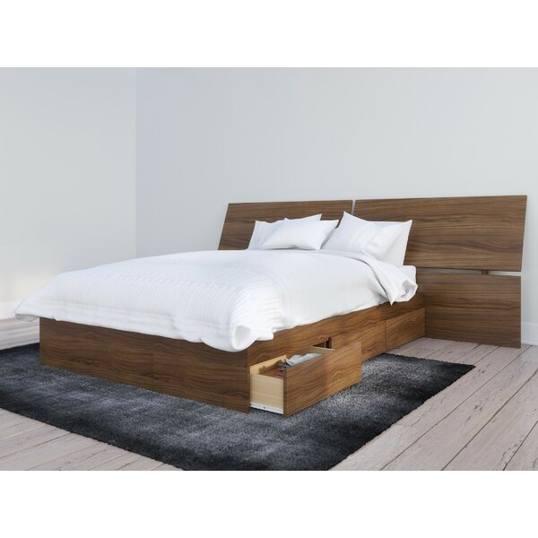 Ralston Platform Bed with Drawers by Mack & Milo