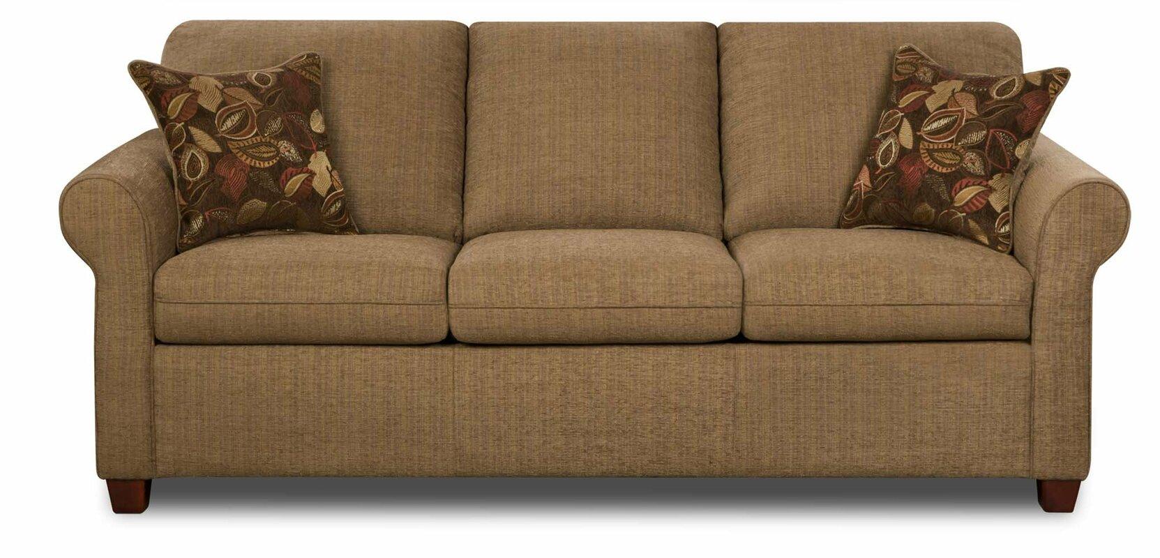 Simmons Upholstery Crittendon Queen Hide A Bed Sleeper Sofa Reviews Birch Lane