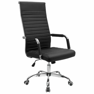 Matz High Back Ribbed Conference Chair