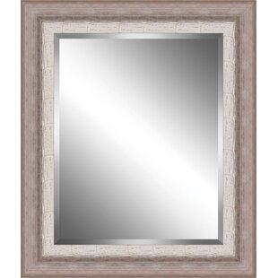 Ashton Wall Decor LLC Ribbed Plate Accent Mirror