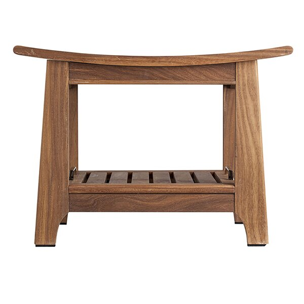 Teak Sauna Bench by Radiant Saunas