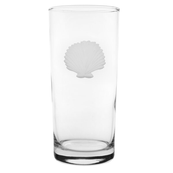 Seashell Cooler Glass (Set of 4) by Rolf Glass