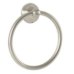 Retroaktiv Tango Wall Mounted Towel Ring by Hansgrohe