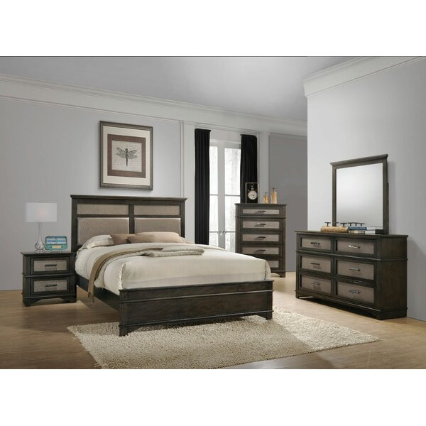 Gino Panel Configurable Bedroom Set by Charlton Home