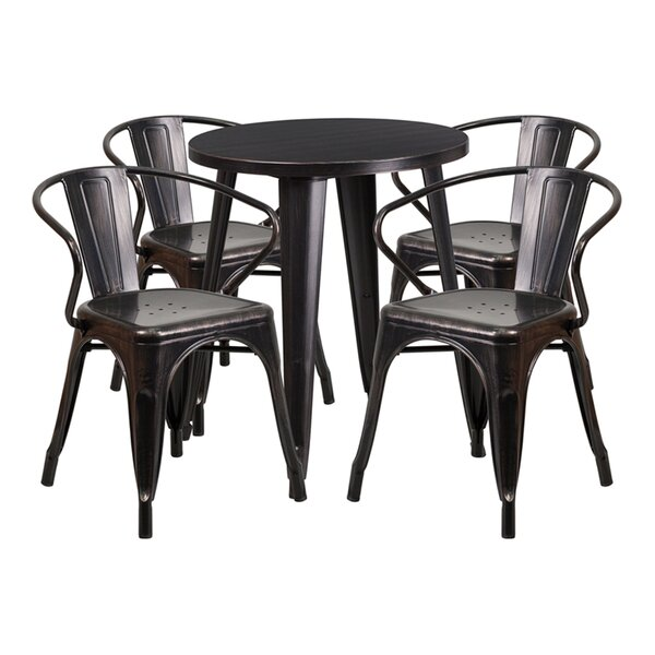 Emma 3 Piece Bar Height Dining Set by Williston Forge