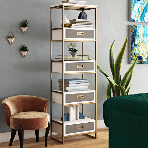 Ariadne Standard Bookcase by Willa Arlo Interiors