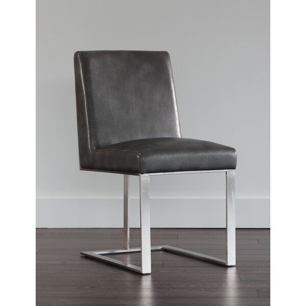 Dean Upholstered Dining Chair by Sunpan Modern