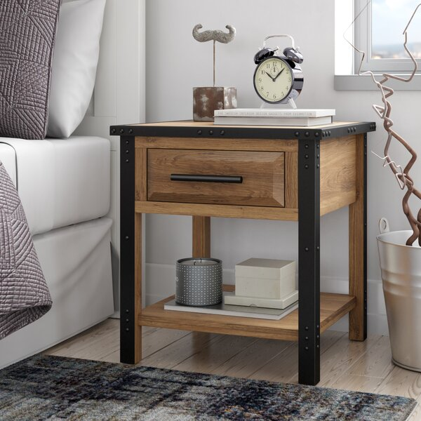 Harrahs 1 Drawer Nightstand by Trent Austin Design