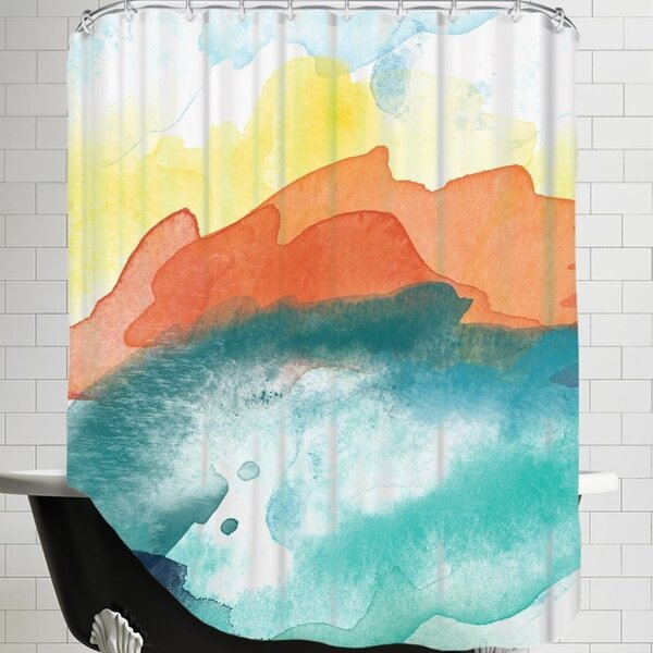 Amy Brinkman Abstract 3 01 Shower Curtain by Brayden Studio