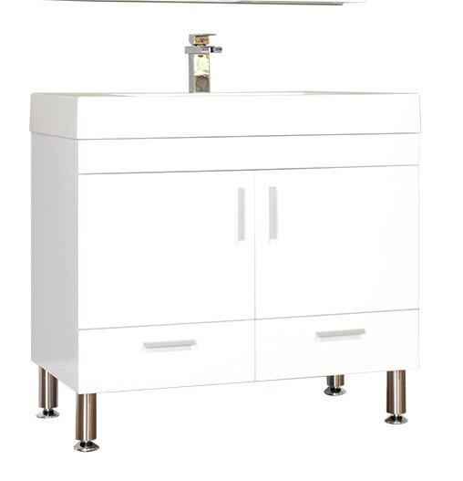 Waldwick 35 Single Bathroom Vanity Set by Wade Logan
