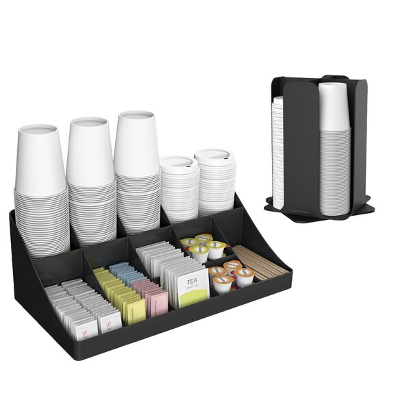 15 Compartment Coffee Condiment Organizer by Mind Reader