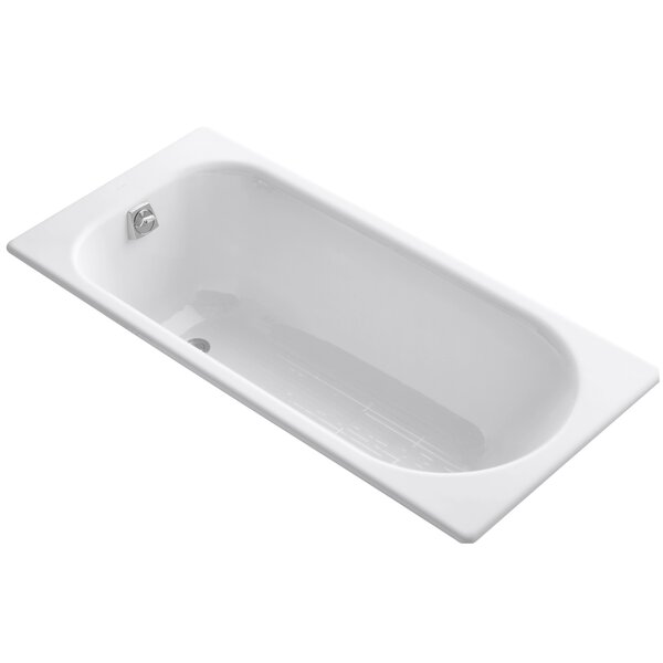 Soissons 59 x 27.5 Drop-in Bathtub by Kohler