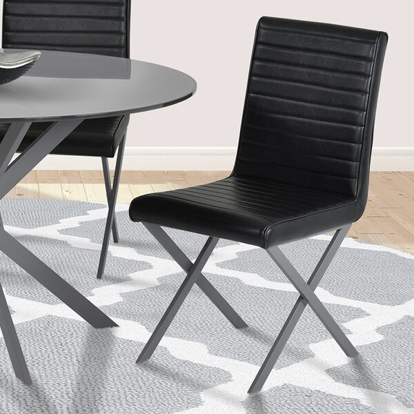 Hale Upholstered Dining Chair (Set of 2) by Orren Ellis
