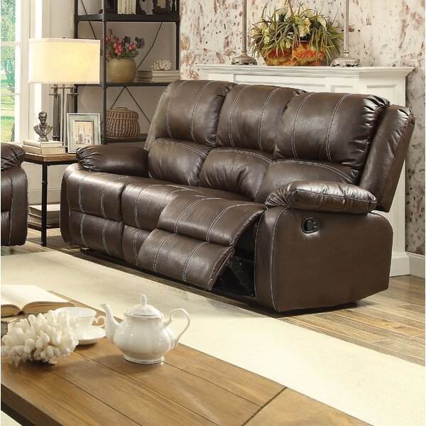 Weekend Promotions Maddock Reclining Sofa by Latitude Run by Latitude Run
