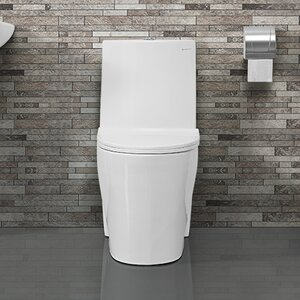 St. Tropezu00ae Dual Flush Elongated One-Piece Toilet