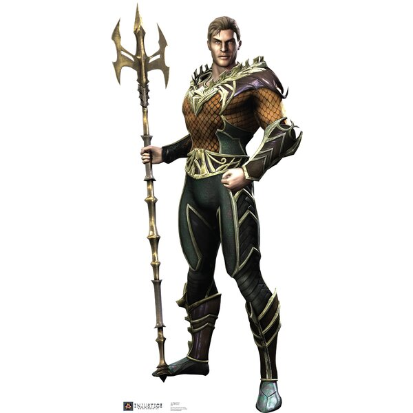 Aquaman - Injustice DC Comics Game Cardboard Standup by Advanced Graphics