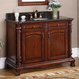 Windsor 47 Single Bathroom Vanity Set by Valore