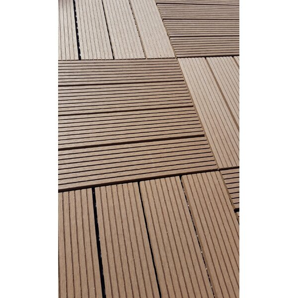 Composite Ipe 12 x 12 Deck Tiles by Vifah
