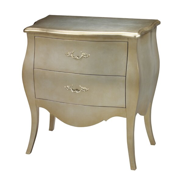 Goforth 2 Drawer Accent Chest by Astoria Grand