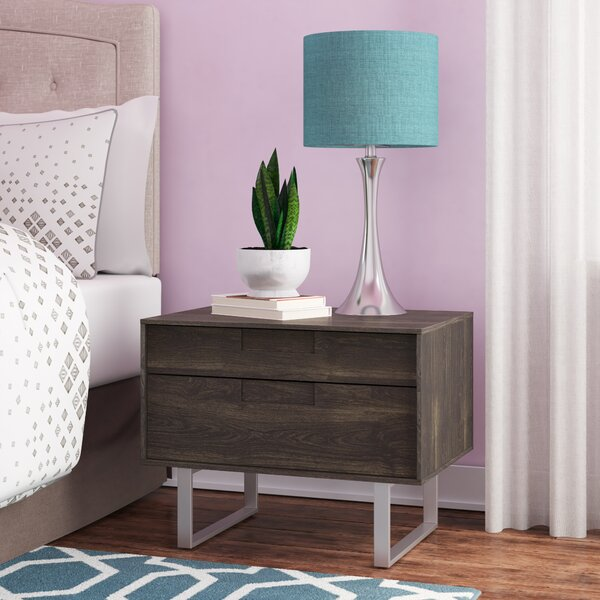 Series 11 2 Drawer Nightstand by Blu Dot