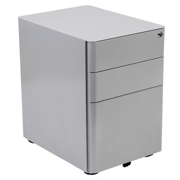 Stephana 3-Drawer Mobile Vertical Filing Cabinet