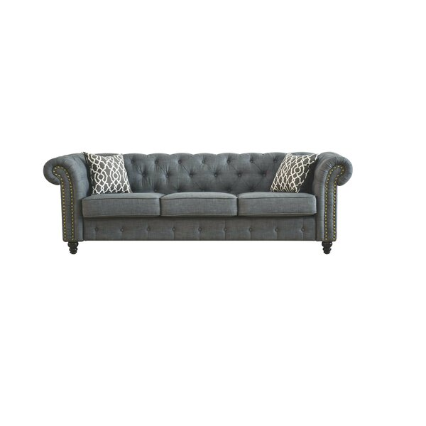 Irenee Sofa with Pillow by Lark Manor