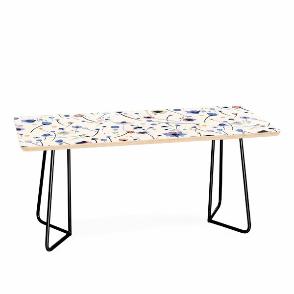 Soft Flowers Coffee Table By East Urban Home