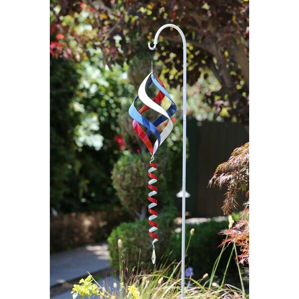 Swirl Garden Stake by Alpine