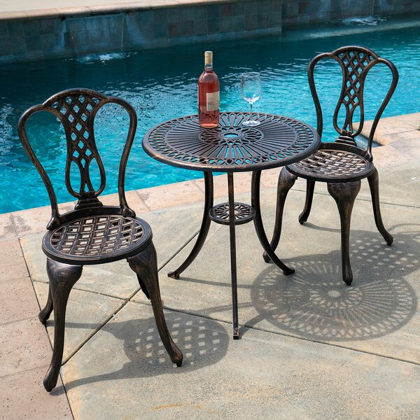 Lynden 3 Piece Bistro Set By Charlton Home by Charlton Home Cool