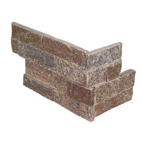 6 x 18 Quartzite Splitface Tile Rust/Copper by MSI