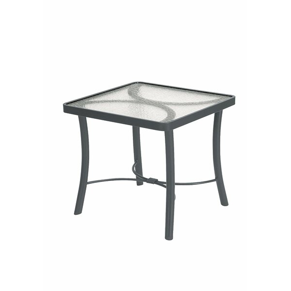 Banchetto Glass Side Table by Tropitone