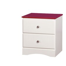 Cristina 2 Drawer Nightstand by Zoomie Kids