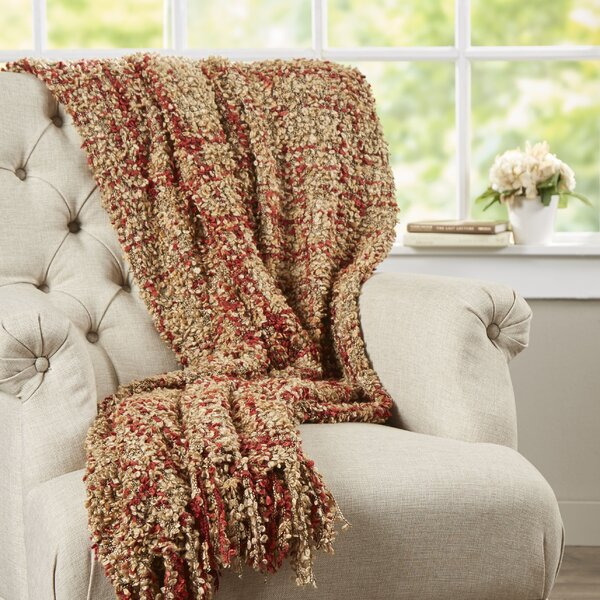 Ashton Woven Throw Blanket by August Grove