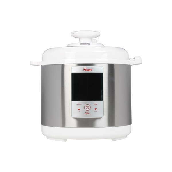 6.34-Quart Electric Pressure Cooker by Rosewill