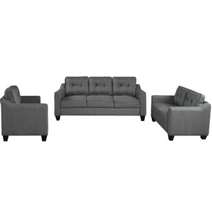 Einy 3 Piece Living Room Set by Red Barrel Studio®
