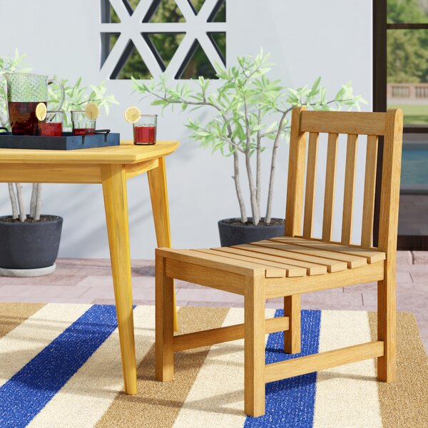 Harpersfield Patio Dining Chair by Beachcrest Home