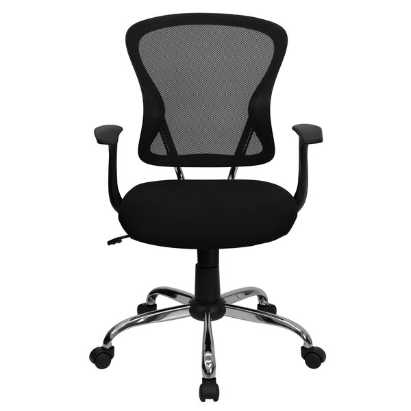 symple stuff clay mid-back mesh desk chair & reviews | wayfair