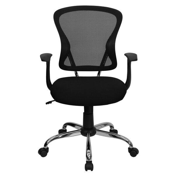 symple stuff clay mid-back mesh desk chair & reviews | wayfair