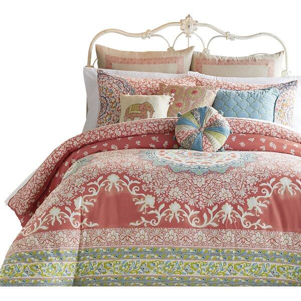 Amrita Medallion 400 Thread Count 100% Cotton Comforter Set