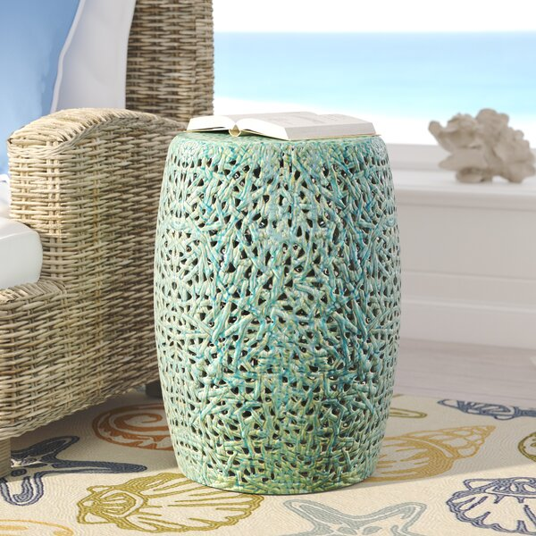 Vineyard Garden Stool by Beachcrest Home