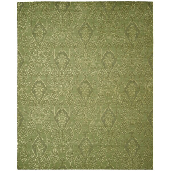 Pine Air Seafoam Area Rug by Bloomsbury Market