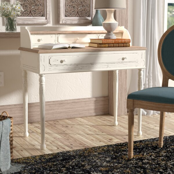 Sevan Secretary Desk with Hutch by Lark Manor