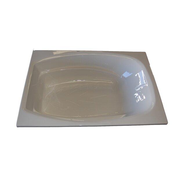72 x 48 Whirlpool Tub by American Acrylic