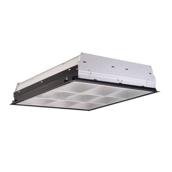 2-Light Fluorescent Parabolic High Bay by Cooper Lighting