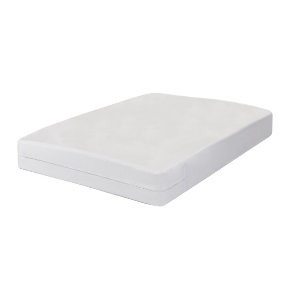 All-In-One Bed Bug Blocker Non-Woven Box Spring Encasement Hypoallergenic Waterproof Mattress Protector by Fresh Ideas