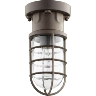 Best Reviews Downend Outdoor Flush Mount By Breakwater Bay
